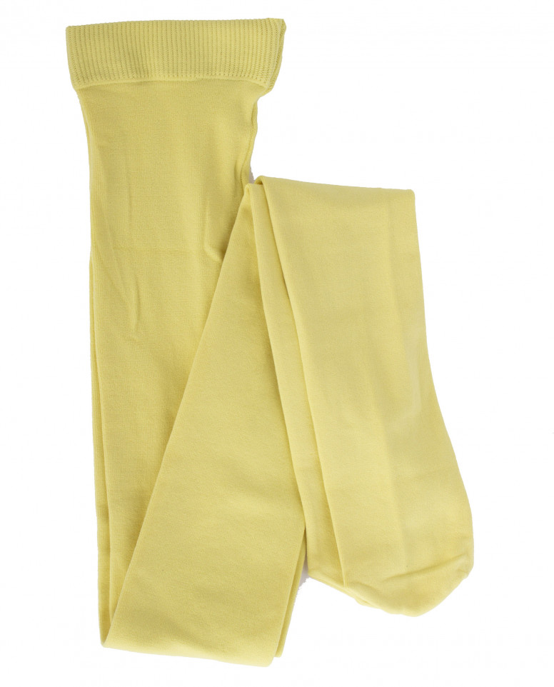 Желтые колготки