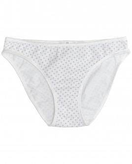 Белые трусики в горошек для девочки OUTLET