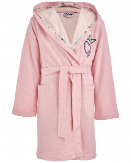 Розовый халат для девочки OUTLET