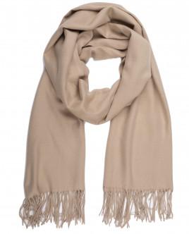 Бежевый шарф OUTLET