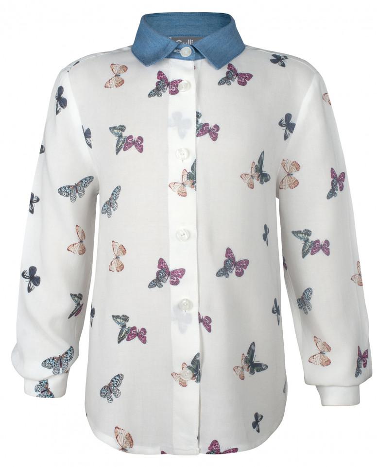 "Рубашка с орнаментом ""Бабочки"""