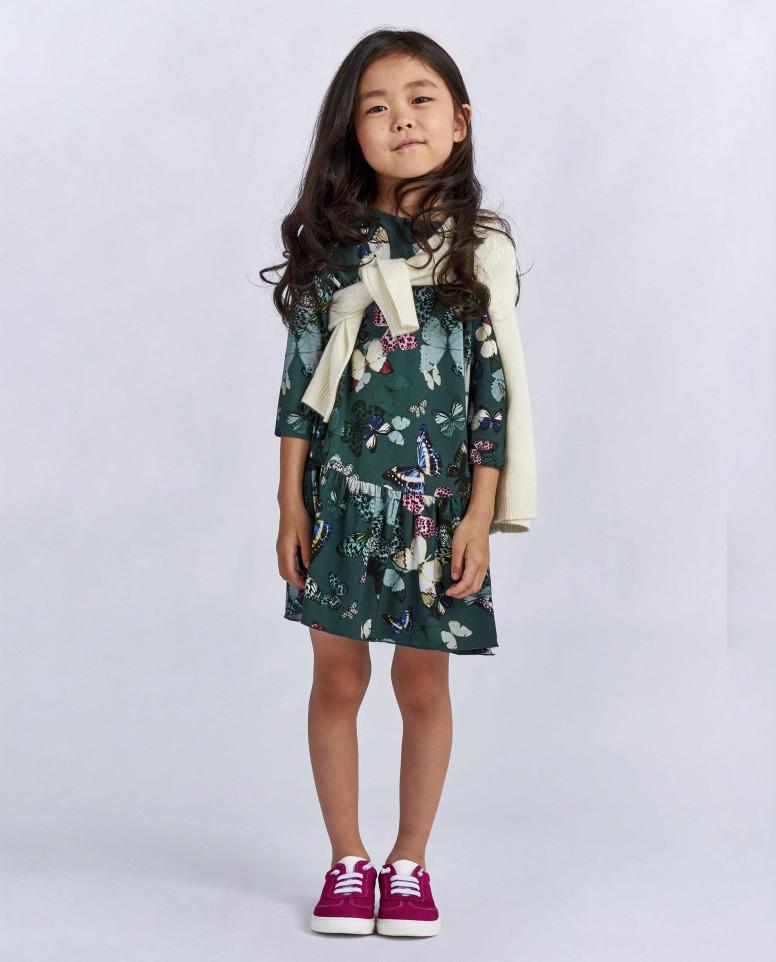 """Платье с орнаментом """"Бабочки"""""""