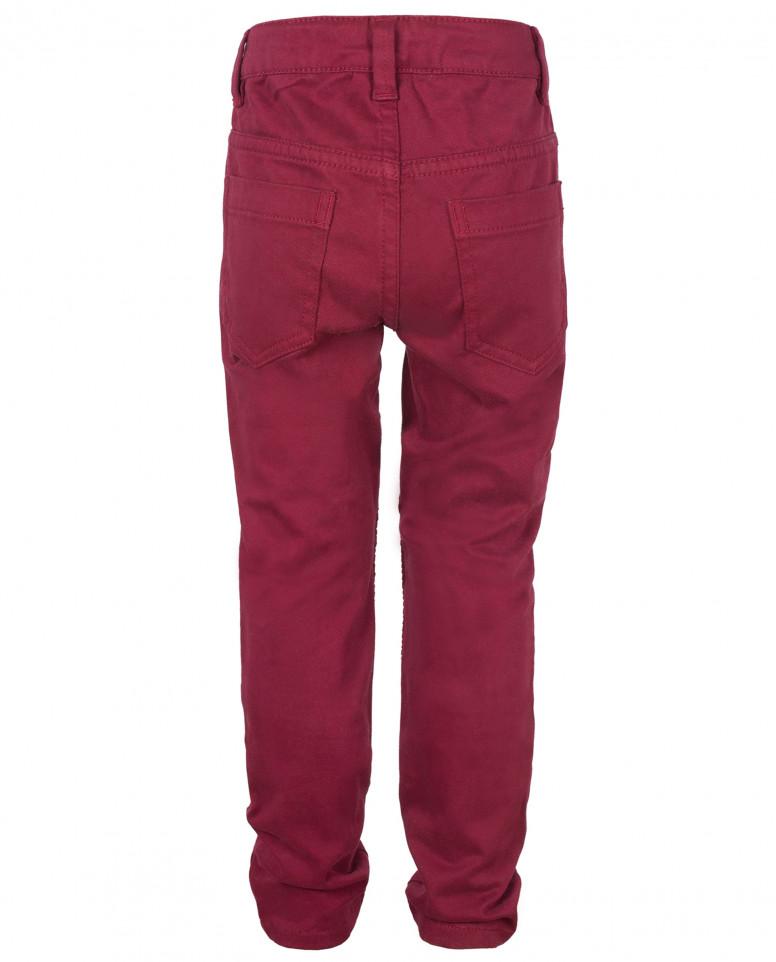 Розовые брюки с защипами Gulliver