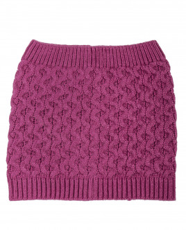 Розовый шарф-хомут OUTLET
