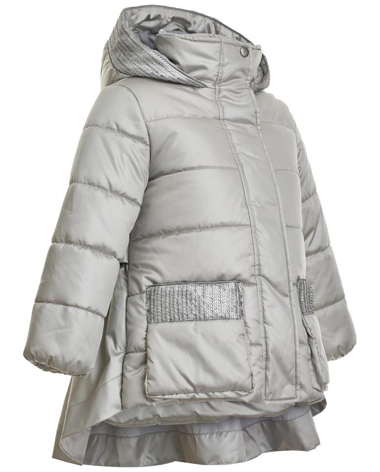 Демисезонная серая куртка