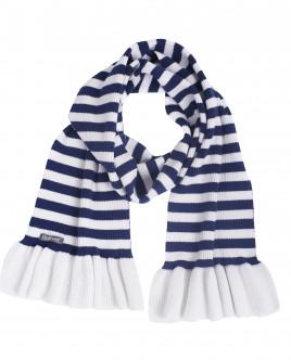Полосатый вязаный шарф OUTLET