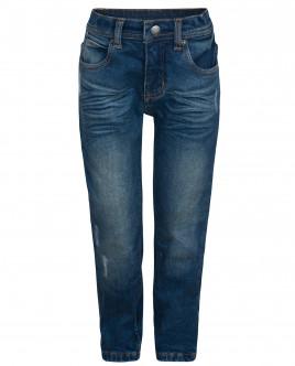Утепленные синие джинсы OUTLET