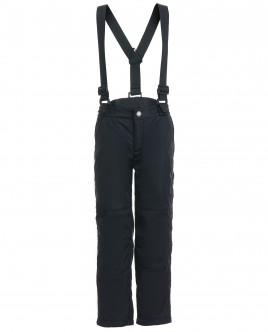 Черные брюки с отстегивающимися бретелями Gulliver OUTLET
