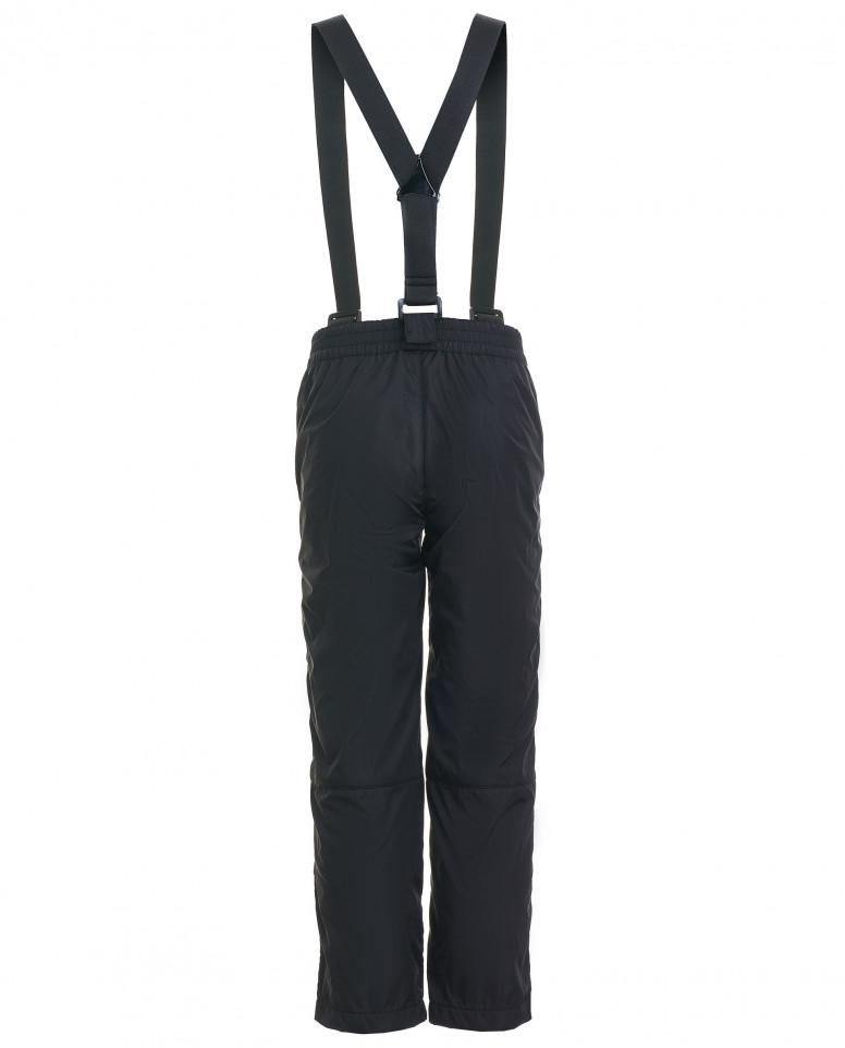 Черные брюки с отстегивающимися бретелями