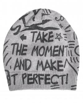 Вязаная шапка с орнаментом Style OUTLET