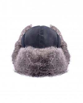 Черная плащевая шапка Gulliver OUTLET