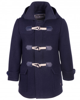 Синее пальто дафлкот OUTLET
