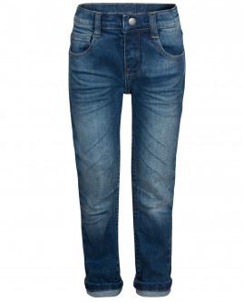 Прямые джинсы с потертостями OUTLET
