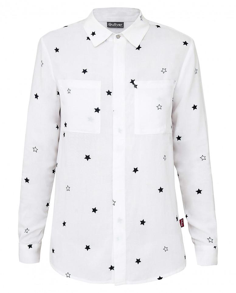 """Рубашка с орнаментом """"Звездопад"""""""