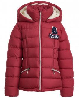 Красная зимняя куртка Gulliver OUTLET