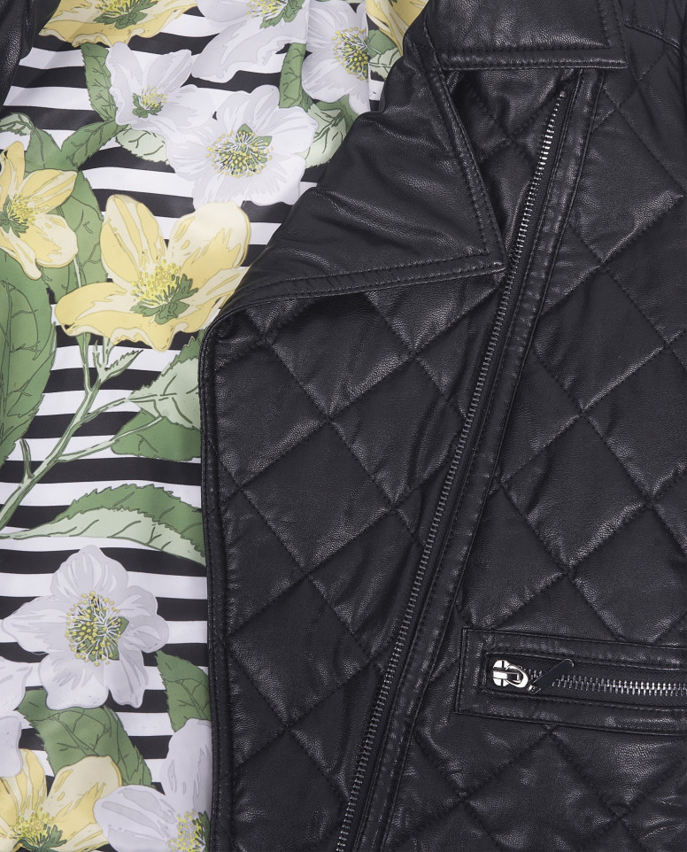 Черная демисезонная куртка