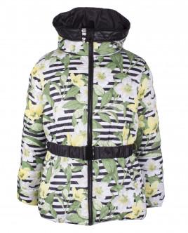 "Зимняя куртка с орнаментом ""Жасмин"" OUTLET"