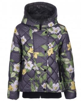 """Демисезонная куртка с орнаментом """"Жасмин"""" OUTLET"""