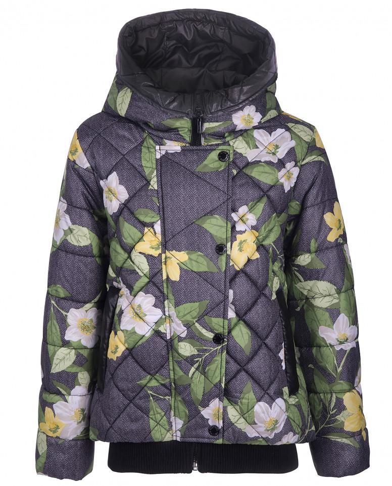 """Демисезонная куртка с орнаментом """"Жасмин"""""""