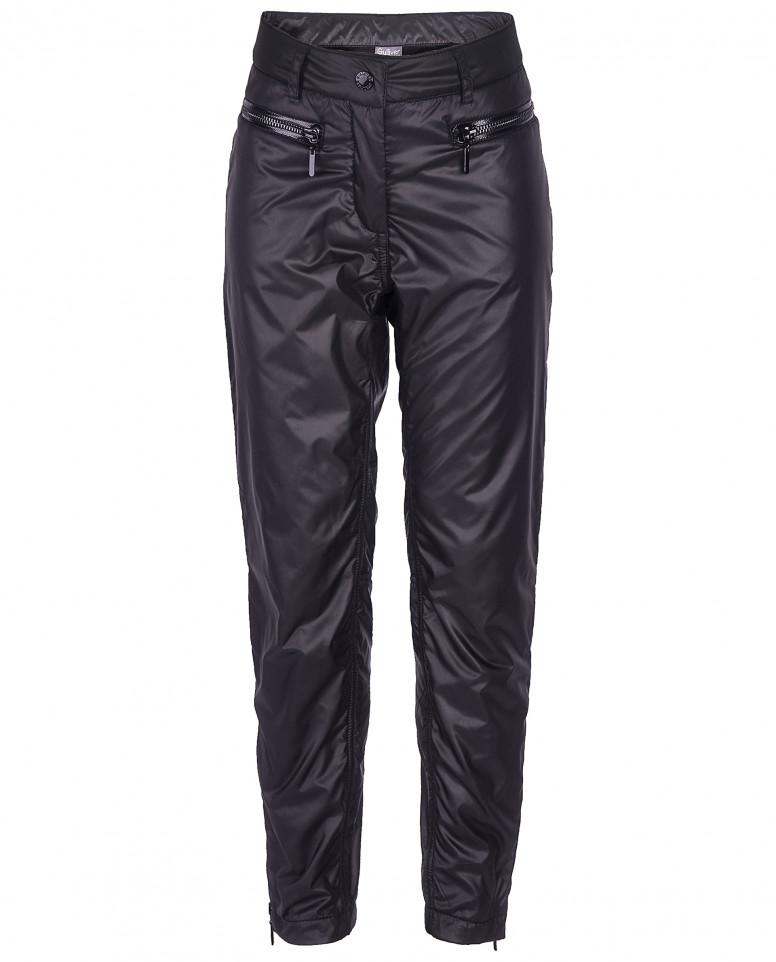 Черные демисезонные брюки