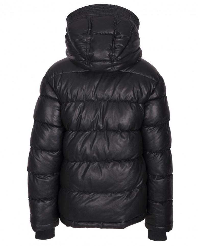 Черная зимняя куртка
