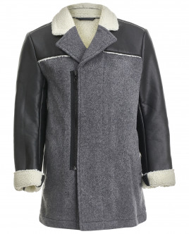 Серое пальто OUTLET
