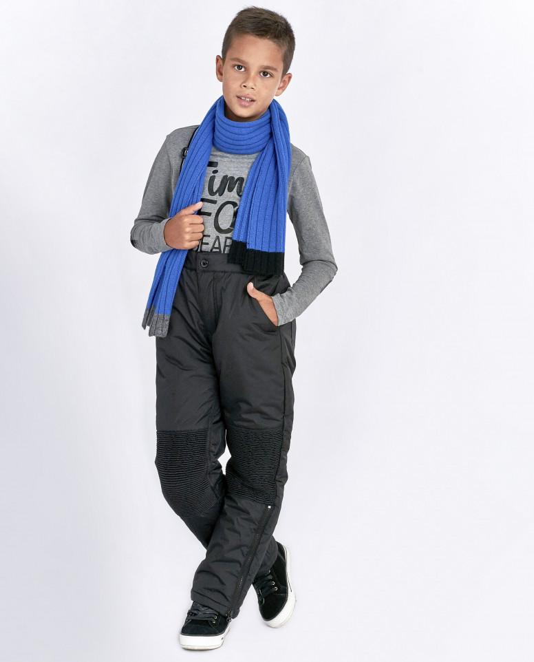Черные зимние брюки
