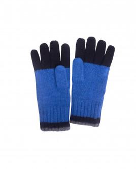 Вязаные перчатки в крупную полоску OUTLET
