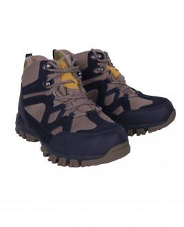 Бежевые замшевые ботинки OUTLET