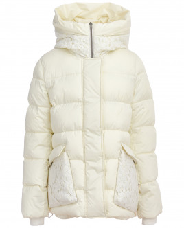 Зимняя куртка с кружевом OUTLET