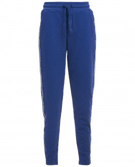 Синие брюки с лампасами OUTLET