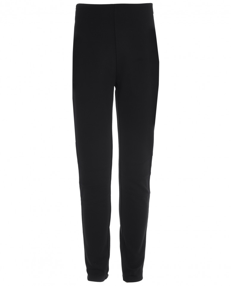 Черные трикотажные брюки