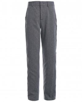 Твидовые серые брюки OUTLET