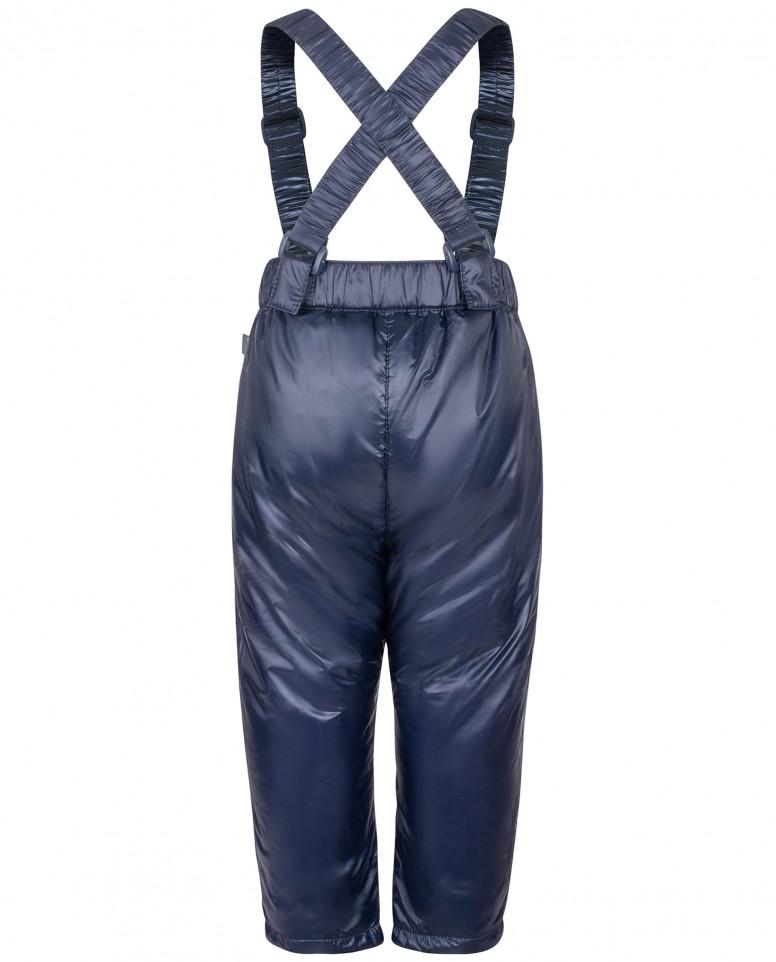 Синие брюки с отстегивающимися бретелями