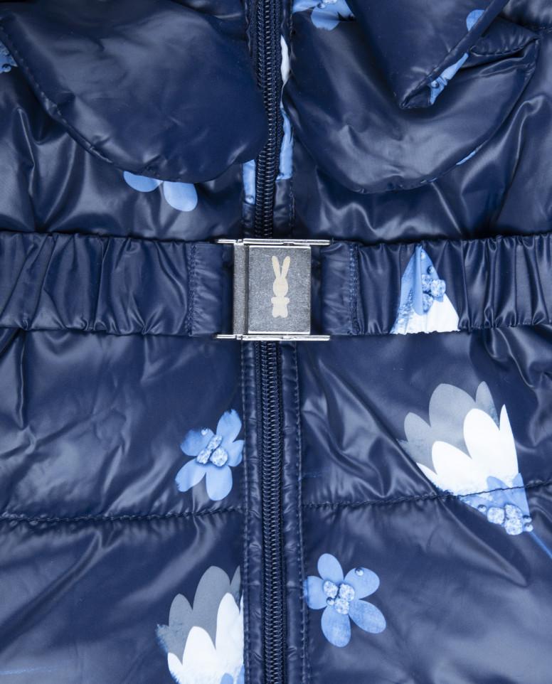 Синий зимний комбинезон