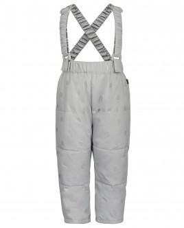 Серые демисезонные брюки OUTLET