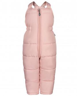 Розовый зимний полукомбинезон Gulliver OUTLET