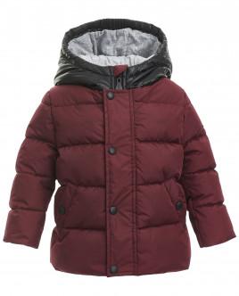 Бордовая демисезонная куртка OUTLET