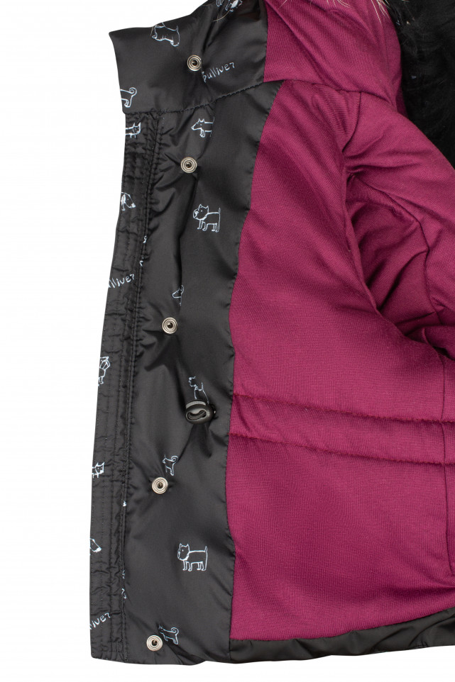 Куртка на искусственном пуху