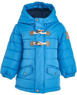 Голубая зимняя куртка OUTLET