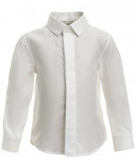 Белая хлопковая рубашка Gulliver OUTLET