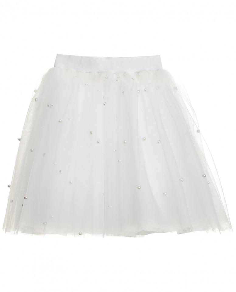 Пышная юбка из сетки