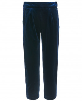 Синие бархатные брюки Gulliver OUTLET
