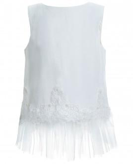 Блузка с отделкой из кружева и сетки Gulliver OUTLET