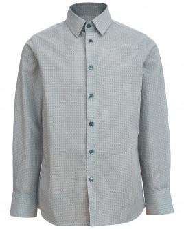 """Рубашка с орнаментом """"Плюсы"""" OUTLET"""