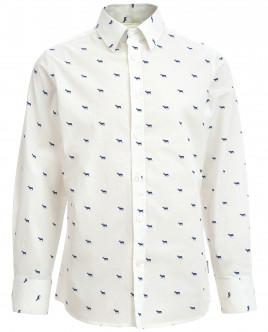 """Рубашка с орнаментом """"Олени"""" OUTLET"""
