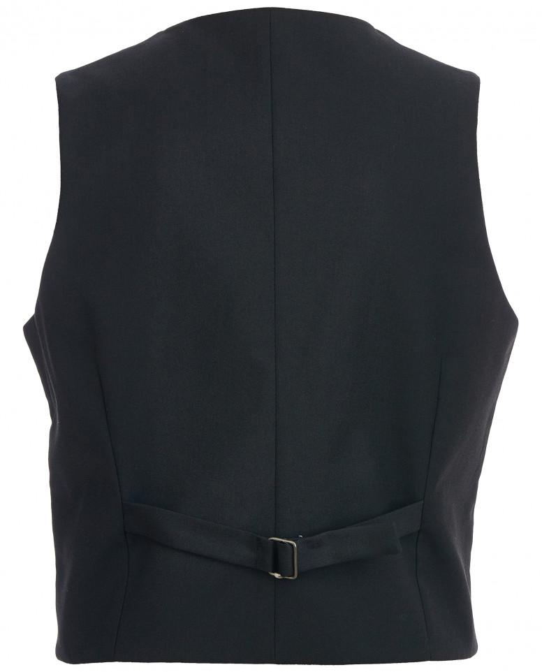 Классический черный жилет