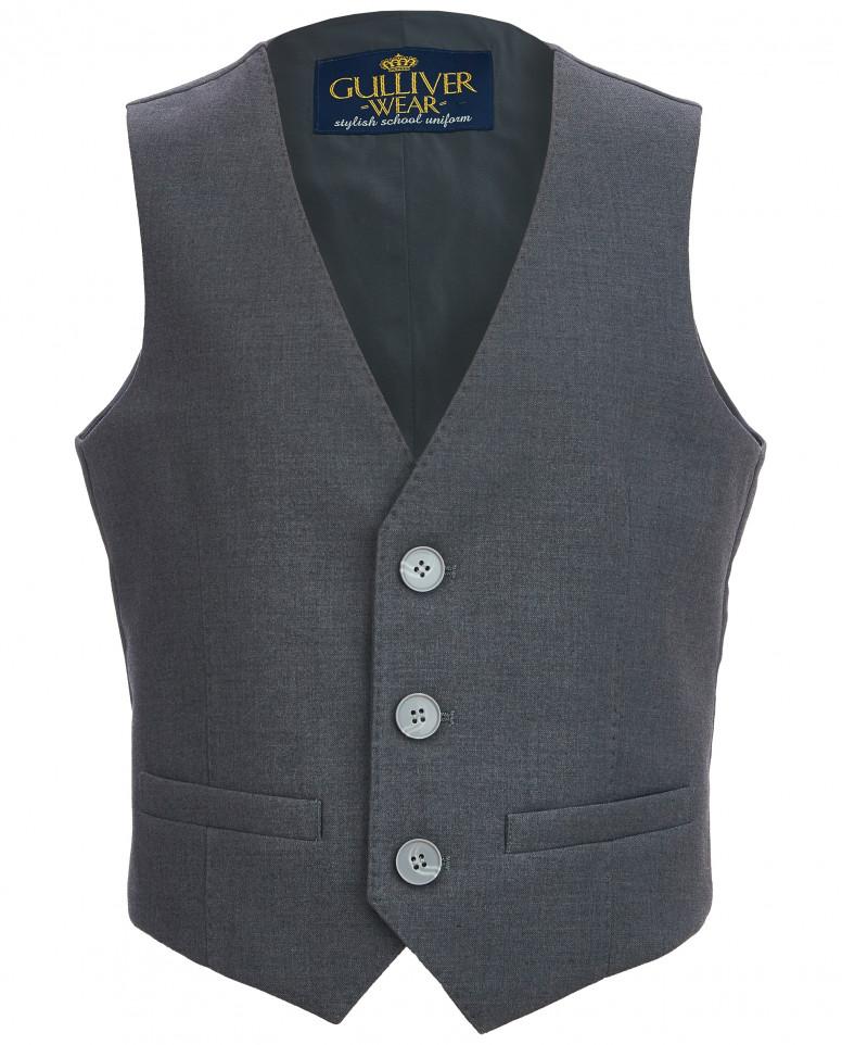 Классический серый жилет
