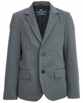 Твидовый серый пиджак Gulliver OUTLET