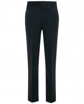 Черные брюки с регулировкой по талии OUTLET